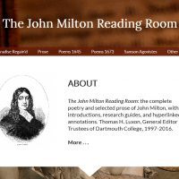 AWED - The John Milton Reading Room - screenshot