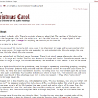 AWED - Annotated A Christmas Carol - screenshot