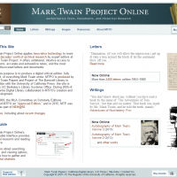 AWED - Mark Twain Project Online - screenshot