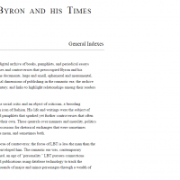 AWED - Lord Byron and his Times - screenshot